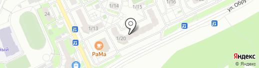 Магазин французской выпечки на карте Томска