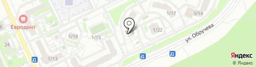 Непоседа на карте Томска