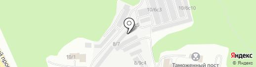 Сибирская перерабатывающая компания на карте Томска