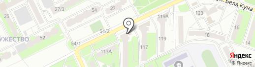 Жара на карте Томска
