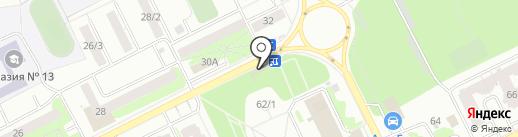 Томичата на карте Томска