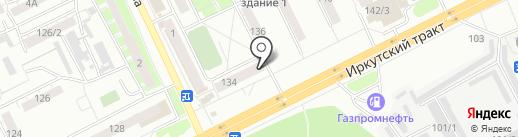 Всё пучком на карте Томска