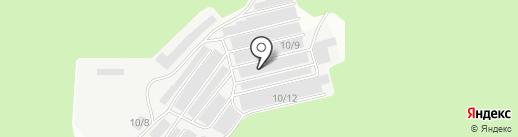 Лития на карте Томска