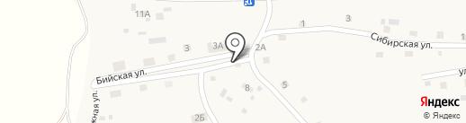 Продуктовый магазин на карте Новой Чемровки