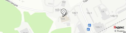 KADO-центр на карте Томска