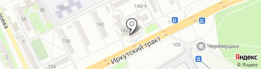 Браконьер на карте Томска