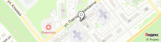 Магазин дисков и флешек на карте Томска