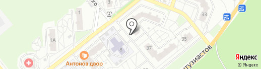 INFANT на карте Томска