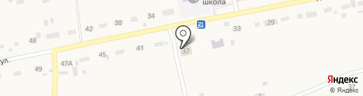 Усть-Катунская сельская библиотека на карте Усть-Катуни
