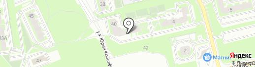 ЛаВиола на карте Томска