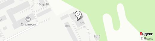 Феррум на карте Томска