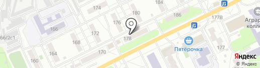 Музей истории Томского приборного завода на карте Томска