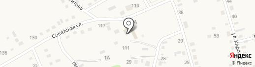Комплексный центр социального обслуживания населения Смоленского района на карте Смоленского