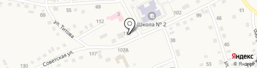 Альянс-Мебель на карте Смоленского