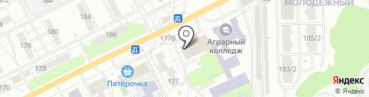 Хмельные напитки на карте Томска