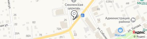 Центральный на карте Смоленского