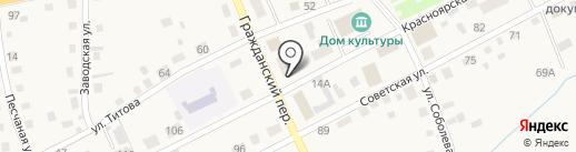 РЕСО-МЕД на карте Смоленского