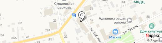 Банкомат, Россельхозбанк на карте Смоленского