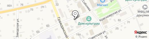 Гермес За рулем на карте Смоленского