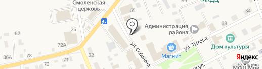 Магазин фруктов и конфет на карте Смоленского