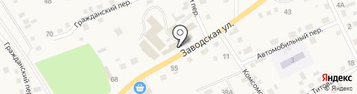 Альянс Мебель на карте Смоленского
