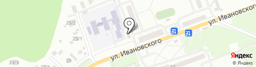 Sios на карте Томска