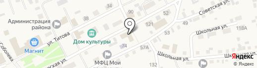 Сбербанк, ПАО на карте Смоленского