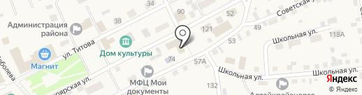 Смоленский РЭС на карте Смоленского