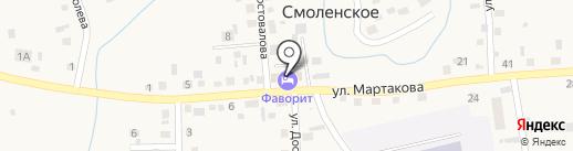 НТСК на карте Смоленского
