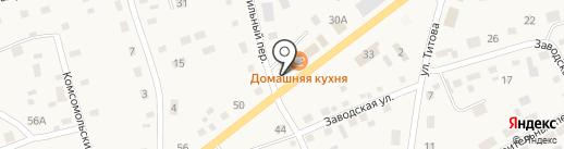 Пенный дворик на карте Смоленского