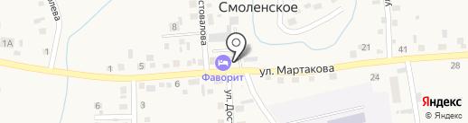 Ростелеком для бизнеса на карте Смоленского