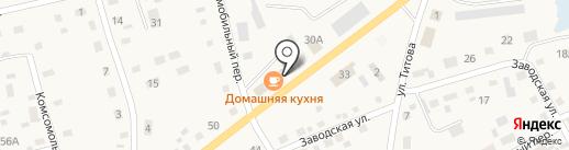Автоцентр на карте Смоленского