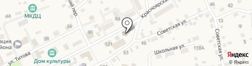 Пожарная часть №48 на карте Смоленского