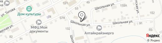 Главное бюро медико-социальной экспертизы по Алтайскому краю, ФКУ на карте Смоленского