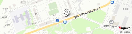 Аптека.ру на карте Томска