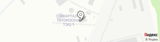 ААПК на карте Бийска