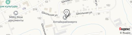 Бийские МЭС на карте Смоленского