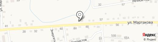 Золотая рыбка на карте Смоленского