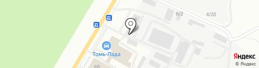 100 перегородок на карте Томска