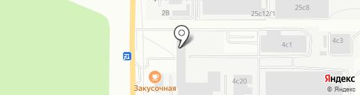Домвент-сибирь на карте Томска