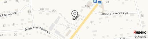 Шиномонтажная мастерская на карте Смоленского
