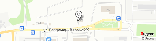 Компания ритуальных услуг на карте Томска