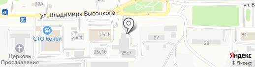 MODENA на карте Томска