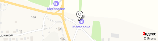 АЗС на карте Смоленского