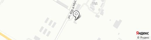 Автотитан на карте Бийска