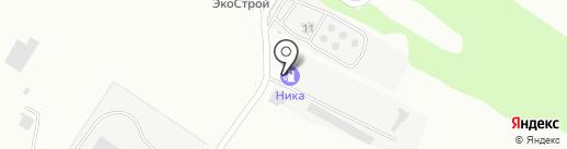 Ника на карте Бийска