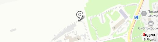 Центр покраски автомобилей на карте Бийска