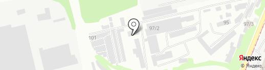 Строительное управление №36 на карте Бийска
