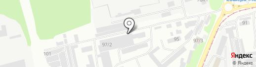 Мастерская кузовного ремонта на карте Бийска