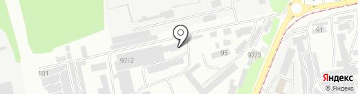 УМСР-11 на карте Бийска
